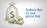 Subscribe to our price list