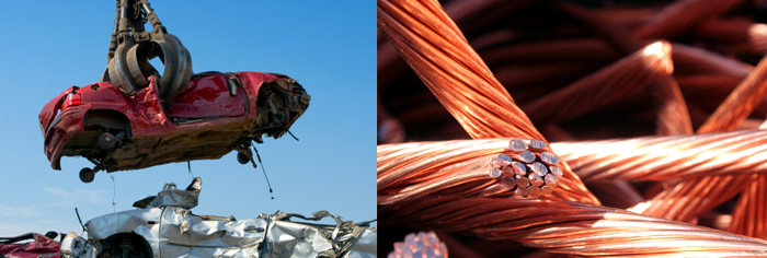 ferrous vs. non-ferrous scrap metal