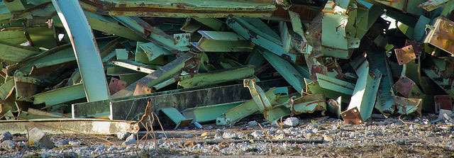 scrap metal services for bridge construction